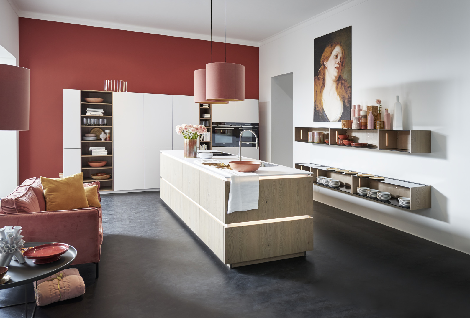 Tavola – Eiche Pinot / Phoenix – Weiß softmatt